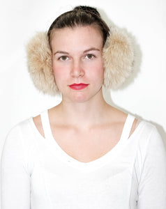 Cream Earmuffs