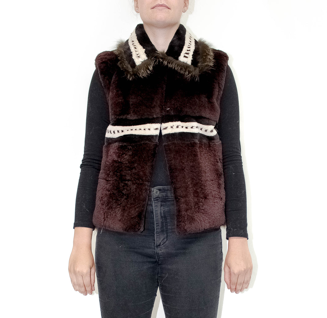 Brownie Sleeveless Vest