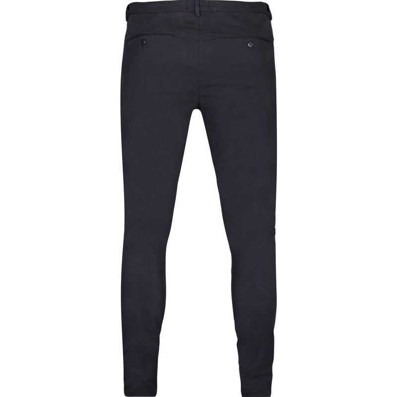 CHINO SKINNY TROUSERS IN NAVY - CR7 Cristiano Ronaldo