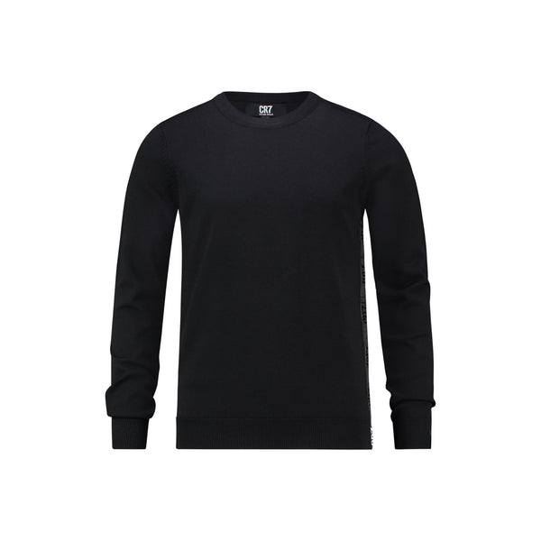 REGULAR FIT CLASSIC CREW NECK PULLOVER - CR7 Cristiano Ronaldo
