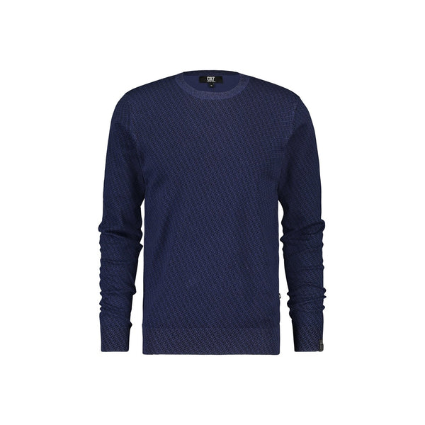 Regular fit crew neck pullover with CR7 logo dessin - CR7 Cristiano Ronaldo