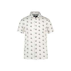 REGULAR FIT SHORT SLEEVE SHIRT WITH ALLOVER PRINT - CR7 Cristiano Ronaldo