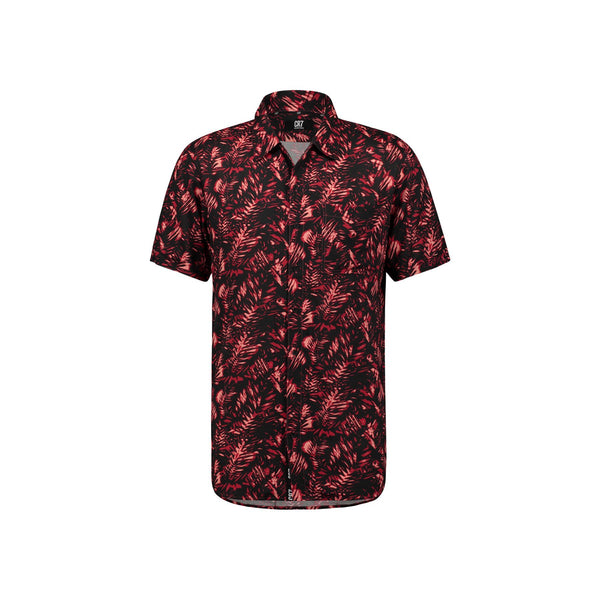 REGULAR FIT SHORT SLEEVE SHIRT WITH PALM TREE PRINT - CR7 Cristiano Ronaldo