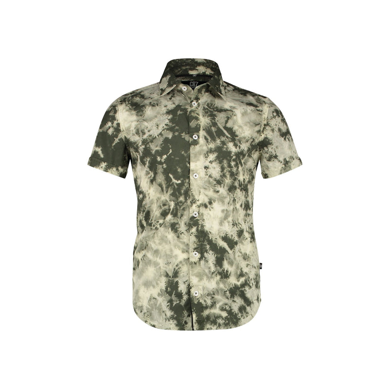 REGULAR FIT TIE DYE SHORT SLEEVE SHIRT - CR7 Cristiano Ronaldo