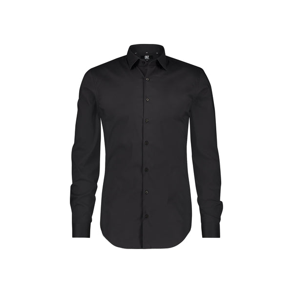 SLIM FIT CLASSIC BLACK SHIRT - CR7 Cristiano Ronaldo