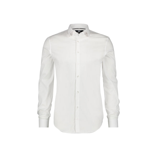 SLIM FIT CLASSIC WHITE SHIRT - CR7 Cristiano Ronaldo