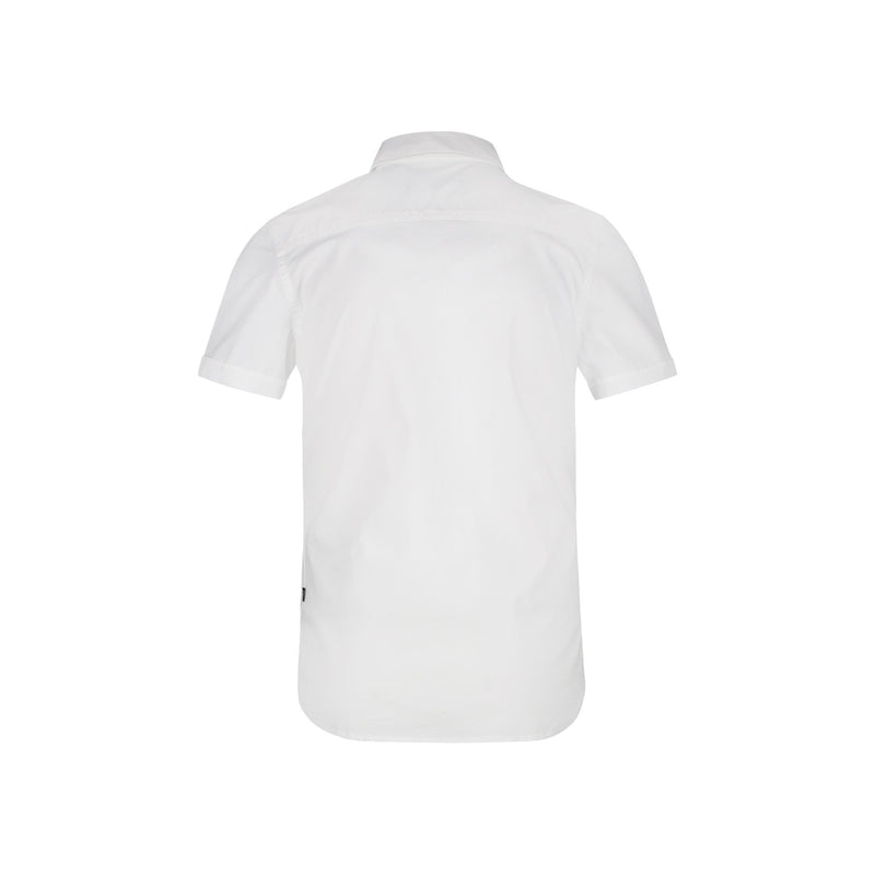 SLIM FIT COTTON STRETCH SHORT SLEEVE SHIRT - CR7 Cristiano Ronaldo