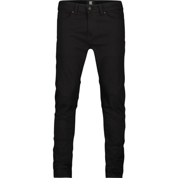 Slim fit jeans in black stretch denim - CR7 Cristiano Ronaldo