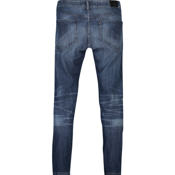 Slim fit jeans in bright indigo stretch denim - CR7 Cristiano Ronaldo