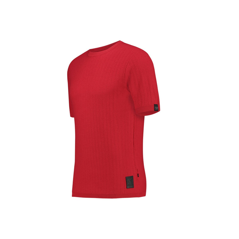 SLIM FIT STRUCTURED SHORT SLEEVE PULLOVER - CR7 Cristiano Ronaldo