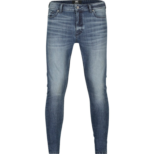 Super skinny fit jeans in medium indigo stretch denim - CR7 Cristiano Ronaldo