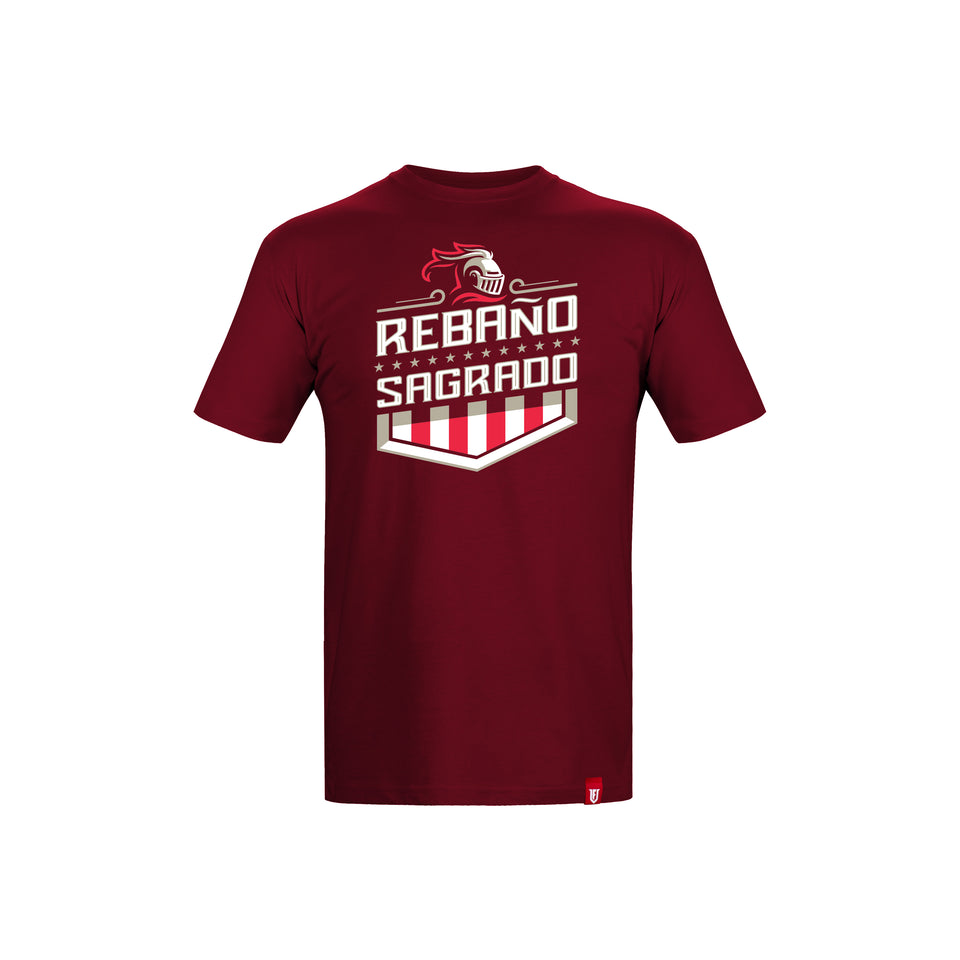 """Rebaño Sagrado"" Knight T-Shirt"