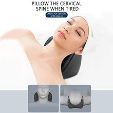 Load image into Gallery viewer, REARAND Neck Traction Devices for Home use, Cervical Spine Massage for Relase Stress,Cervical Massage Pillow, Support Neck and Shoulder Pain Relief Support, Touch Muscle Points,Neck Relief Hammock