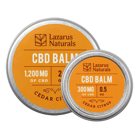 CBD Balm - Cedar Citrus - Lazarus Naturals - Sold by Peacefully You