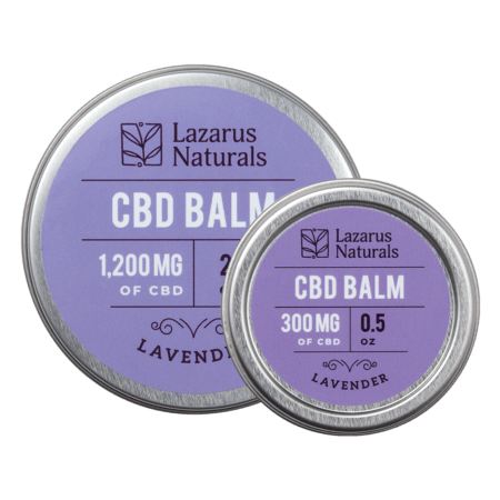 CBD Balm Lavender Scent Lazarus Naturals - Sold by Peacefully You