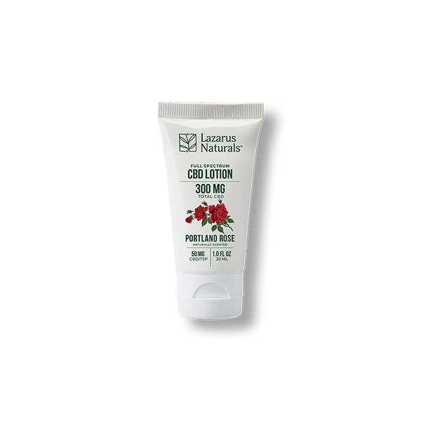 Portland Rose Full Spectrum CBD Lotion