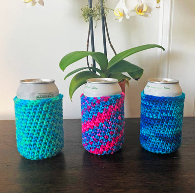 Beer/Soda Can Cooler - Available in 3 Colors - Peacefully You