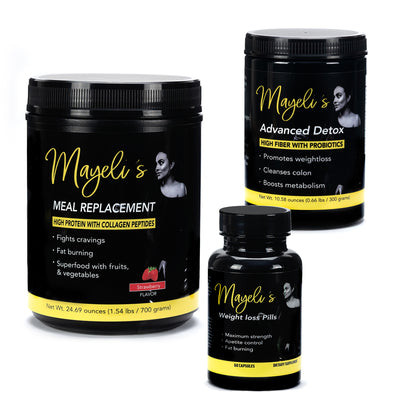 Strawberry Mayeli's weight loss kit - Evolution Fit