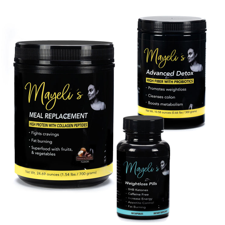 Chocolate/Coconut Mayeli's Weight Loss kit - Evolution Fit