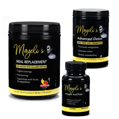 Strawberry Banana Mayeli's weight loss kit
