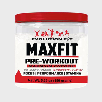 MAXFIT PRE-WORKOUT - Evolution Fit