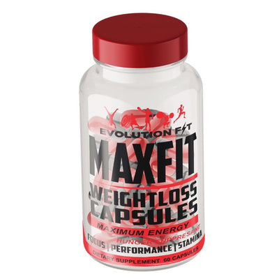 MAXFIT WEIGHT LOSS CAPSULES - Evolution Fit