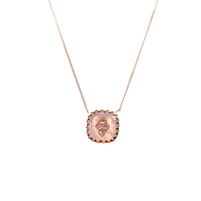 Pascale Monvoisin Moonstone Pierrot N°2 Necklace