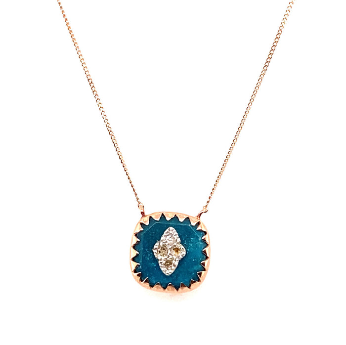 Pascale Monvoisin Turquoise Pierrot N°2 Necklace