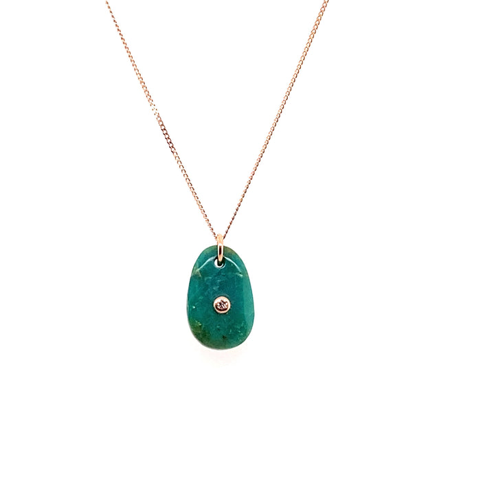 Pascale Monvoisin Turquoise Orso N°1 Necklace