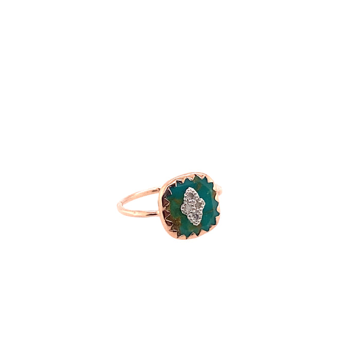 Pascale Monvoisin Pierrot Turquoise Ring
