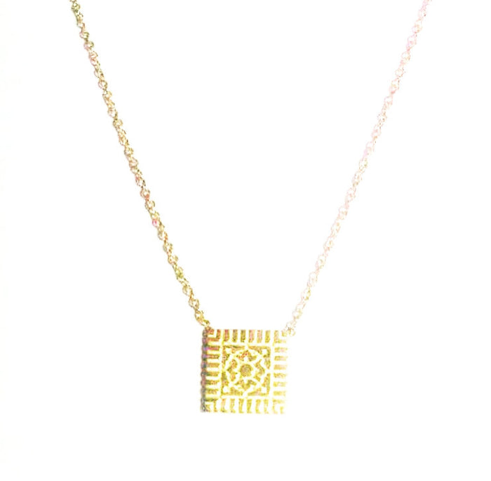Exclusive 14kt Ornate Lexington Necklace