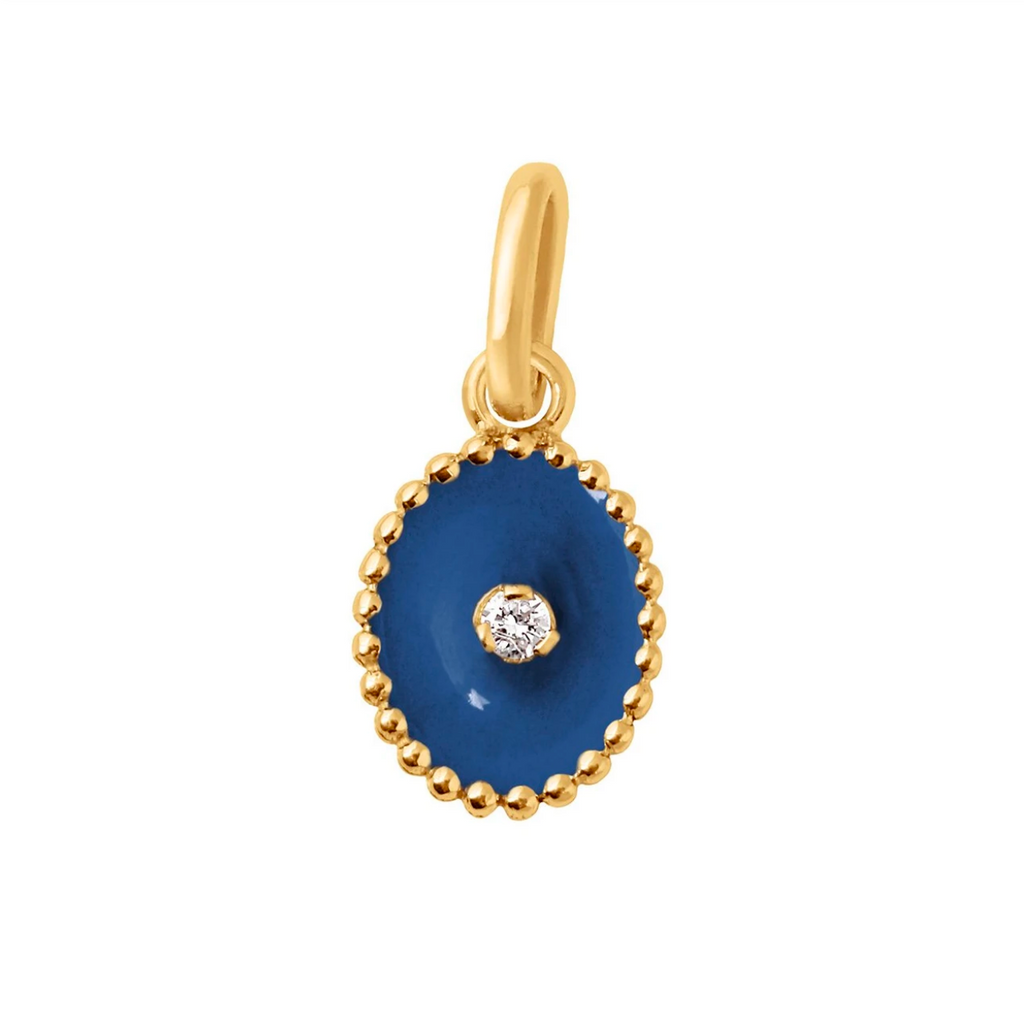 Gigi Clozeau 18kt North Star Diamond Resin Charm