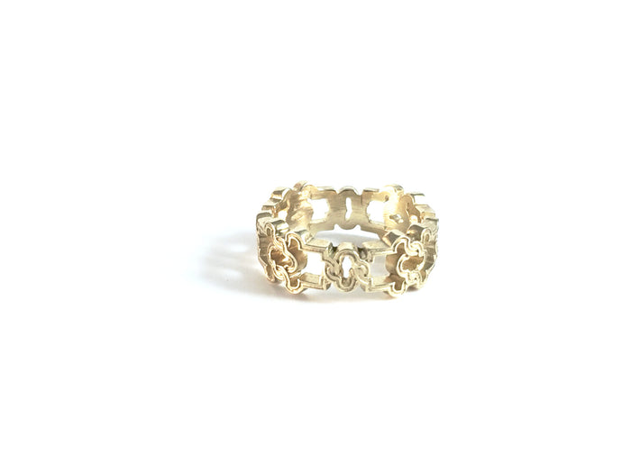 Exclusive 14kt Ornate Ryman Ring