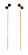 Gigi Clozeau 18K Dot Gem Resin Earrings