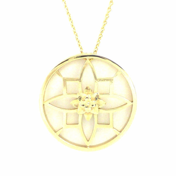 Exclusive 14K Ornate Recoleta Pendant