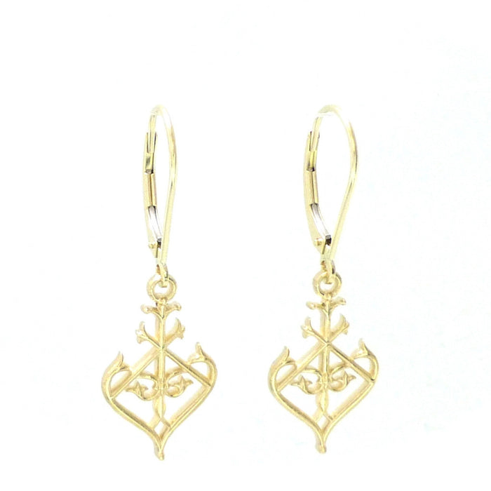 Exclusive 14kt Ornate Bosque Bello Dangle Earrings