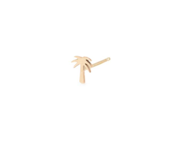 Zoë Chicco 14kt Mini Palm Tree Studs