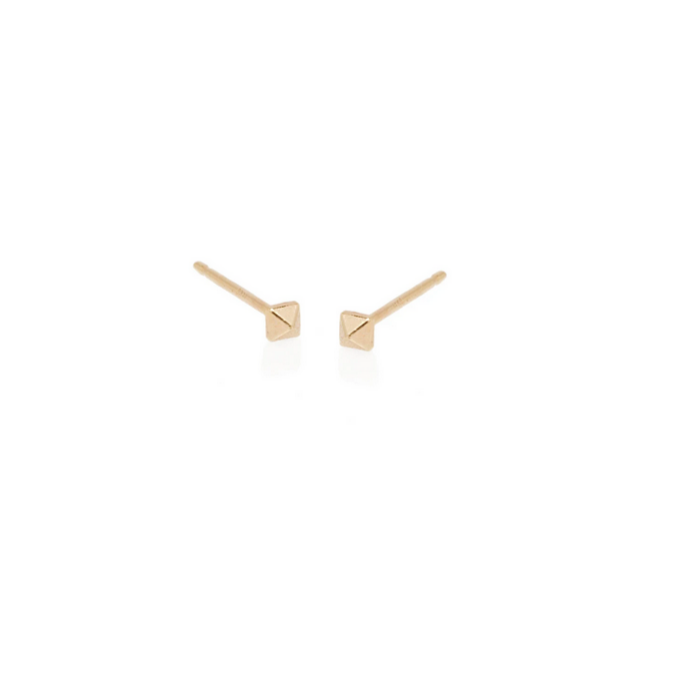 Zoë Chicco 14kt Yellow Gold Tiny Spike Single Stud