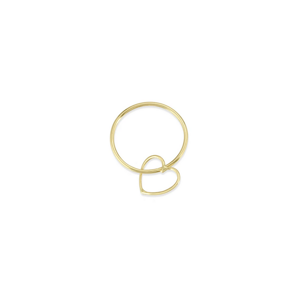 Hortense 14kt Yellow Gold Sweetheart Ring