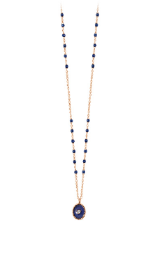 Gigi Clozeau 18K North Star Diamond Resin Necklace