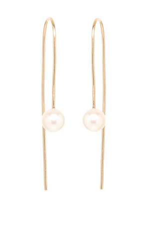 Zoë Chicco 14kt Fresh Water Pearl Wire Errings