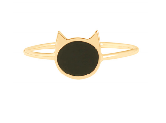 Gigi Clozeau 18K Cat Resin Ring