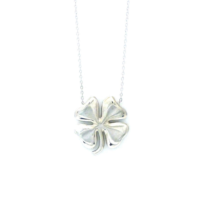 Exclusive 14kt Ornate Clover Necklace