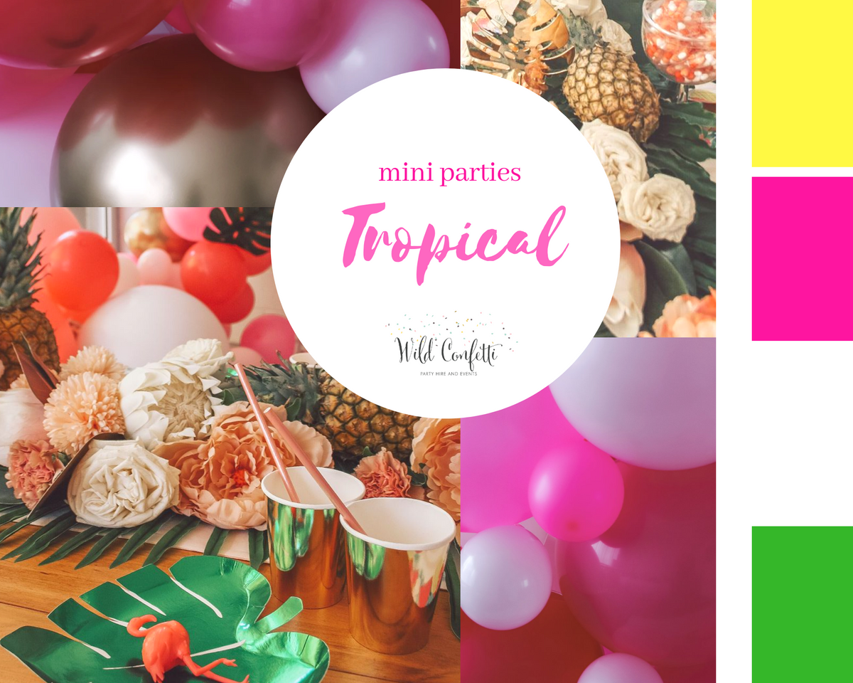 Tropical Mini Party