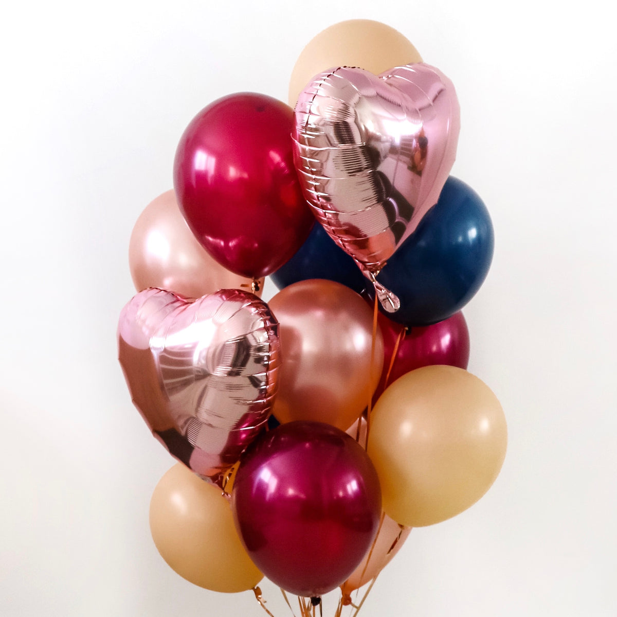 Autumn Luxe Balloon Bunch