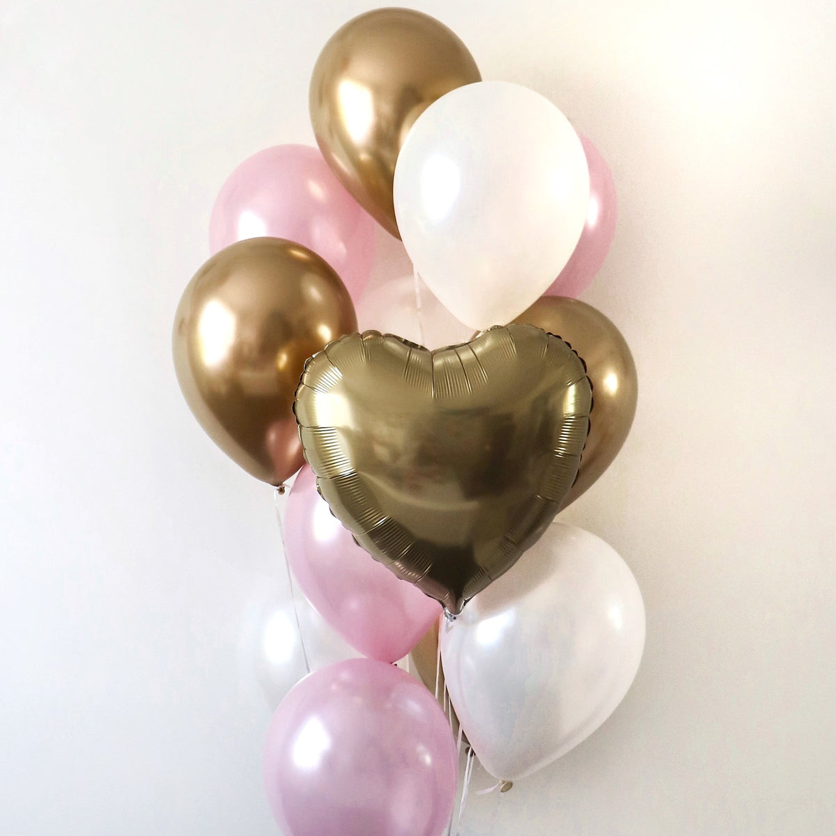 Pretty in Pink Balloon Bunch