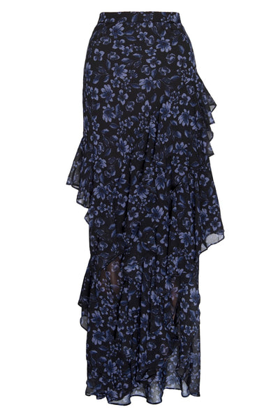 Ciara Skirt in Midnight Floral