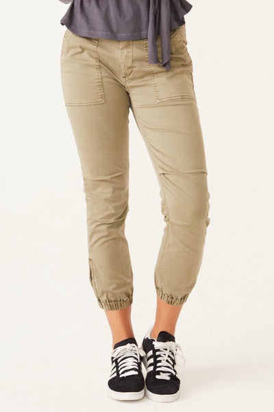 Jogger w/ Side Zip Detail