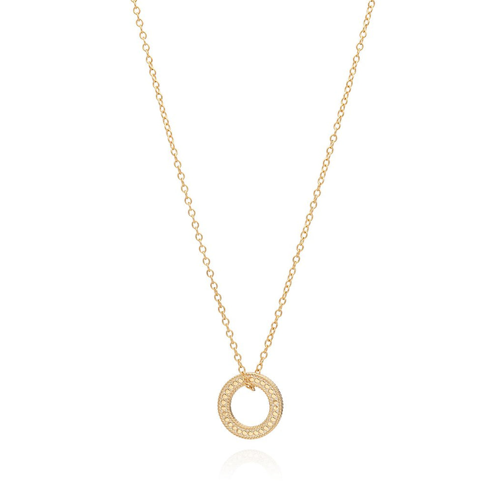 "Circle of Life Open ""O"" Necklace"