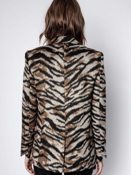 Venus Soft Tiger Jacket